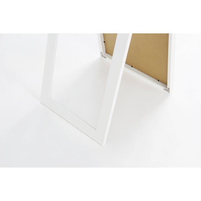 Zoey Standing Mirror 30 x 150 cm - White - 6