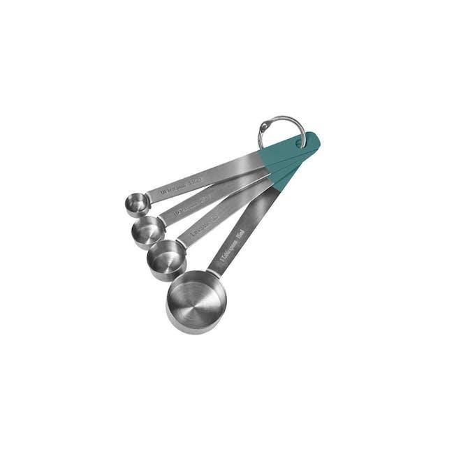 Jamie Oliver Atlantic Green Measuring Spoons - 0