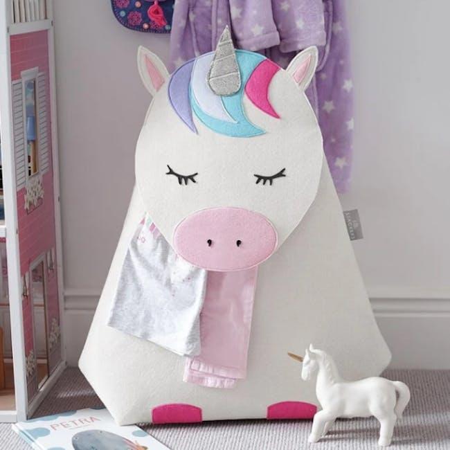 Little Stackers Storage Basket - Lola Unicorn - 1