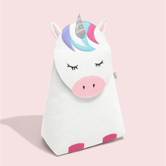 Little Stackers Storage Basket - Lola Unicorn - 2