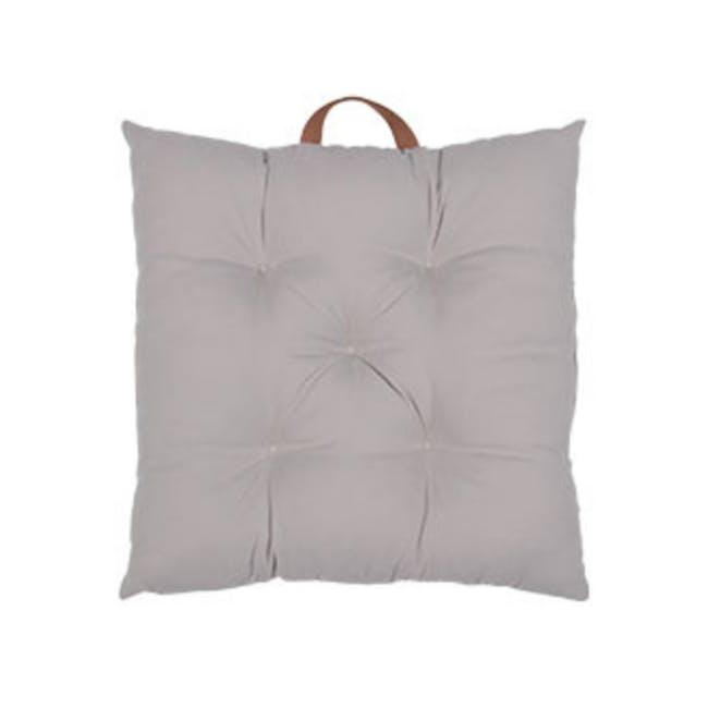 Esme Floor Seat Cushion 40cm - Grey - 0