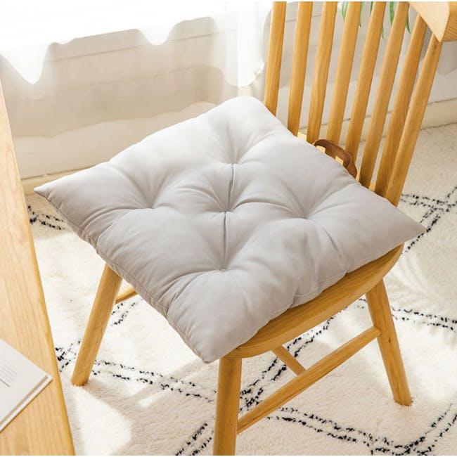 Esme Floor Seat Cushion 40cm - Grey - 2