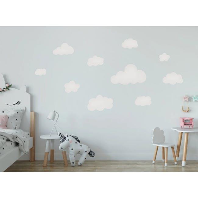 Urban Li'l Jumbo Clouds Fabric Decal - 0