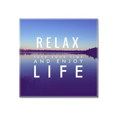 Relax Print Poster - Image 1