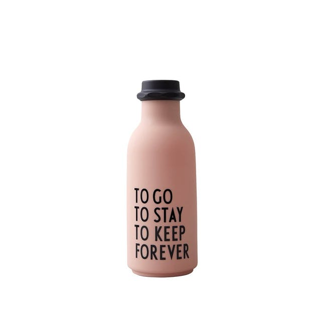 To Go Water Bottle Special Edition - Nude 500ml - 0
