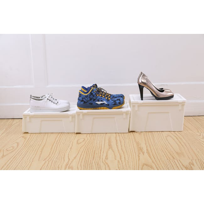 Ladies' Sliding Lid Shoe Box (Pack of 4) - 6