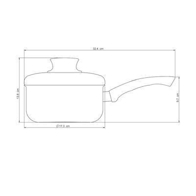 MLK Sauce Pan 16cm - Image 2