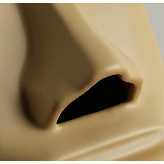 Moai Head Tissue Holder - White - 5