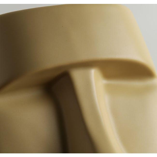 Moai Head Tissue Holder - White - 4