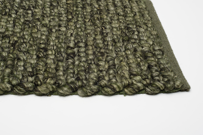 Lazo Rug (2m by 3m) - Olive Green - Image 2