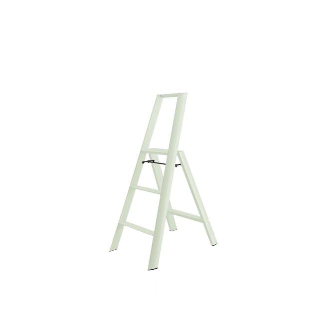 Hasegawa Lucano Aluminium 3 Step Ladder - Mint Green - 0