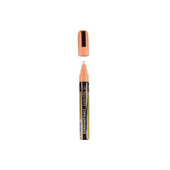 Securit Liquid Chalk Marker With 2-6Mm Tip - Orange - 0