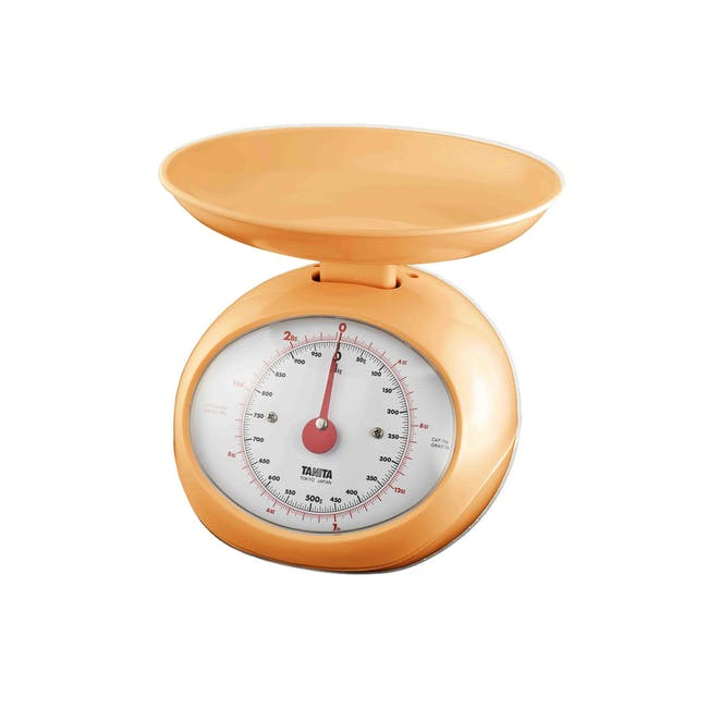 Tanita Mechanical Kitchen Scale 2.25kg - Orange - 0