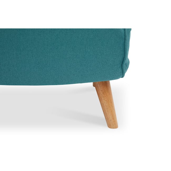 Noel 2 Seater Sofa Bed with Noel Sofa Bed - Teal - 13