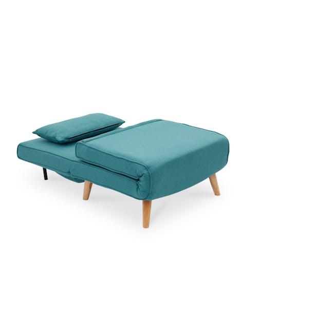 Noel Sofa Bed - Teal - 11