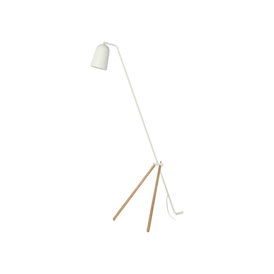 Giraffe Floor Lamp - White - Image 1