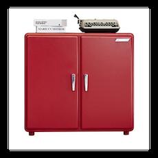 Pico Retro Pop 2 Door Storage Cabinet