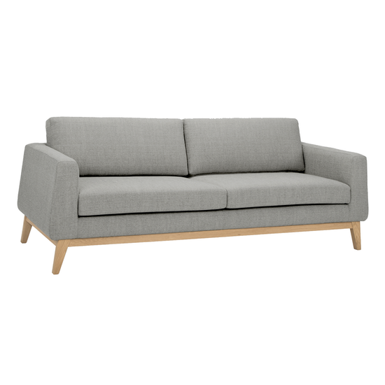 FYND - Croft 3 Seater Sofa - Timberwolf