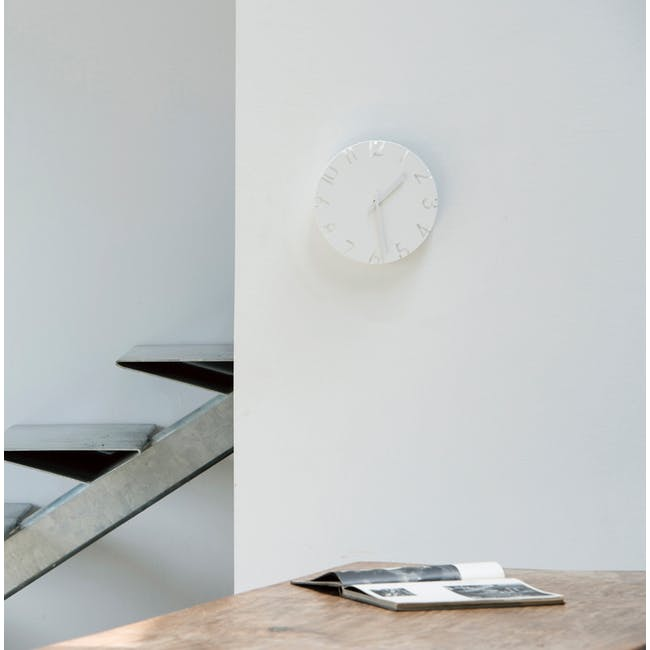 Carved Clock - Roman - 2 Sizes - 2