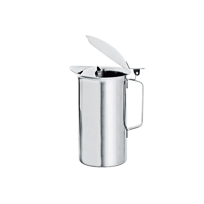 Zebra Stainless Steel Water Jug with Lid 1.9L - 1