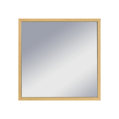 Hosta Square Mirror 40 x 40 cm - Oak - Image 1