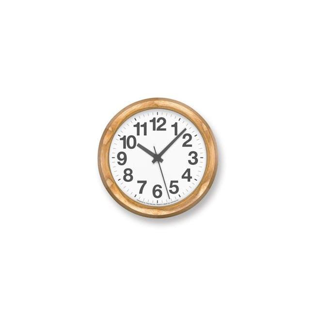 Clock A Small - Natural - 0
