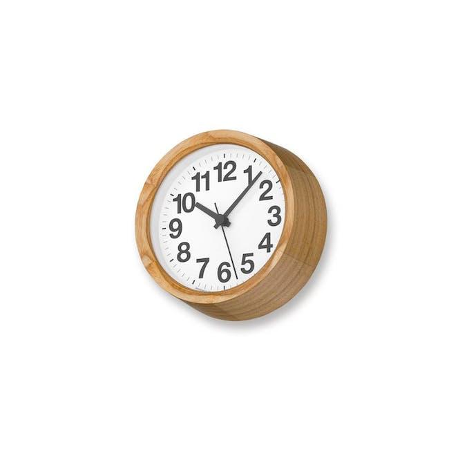 Clock A Small - Natural - 1