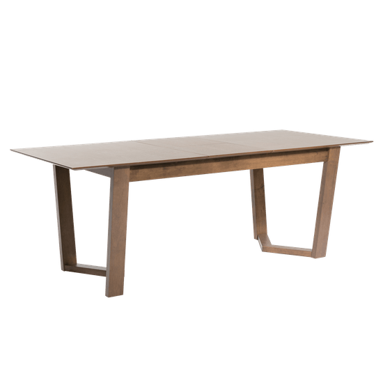 HipVan Bundles - Meera Extendable Dining Table 1.6m with 4 Imogen Dining Chairs - Cocoa