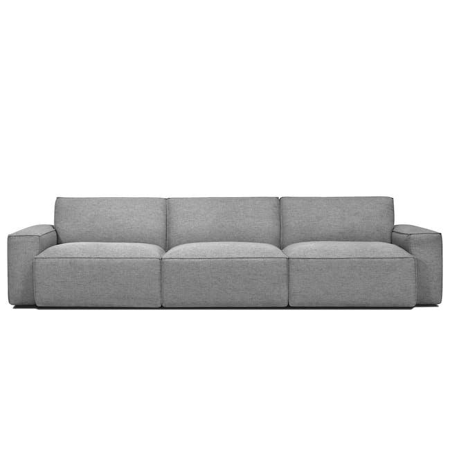 Ford L-Shaped 4 Seater Sofa - Slate - 2