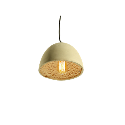 Thirza Concrete Dome Lamp - Image 2