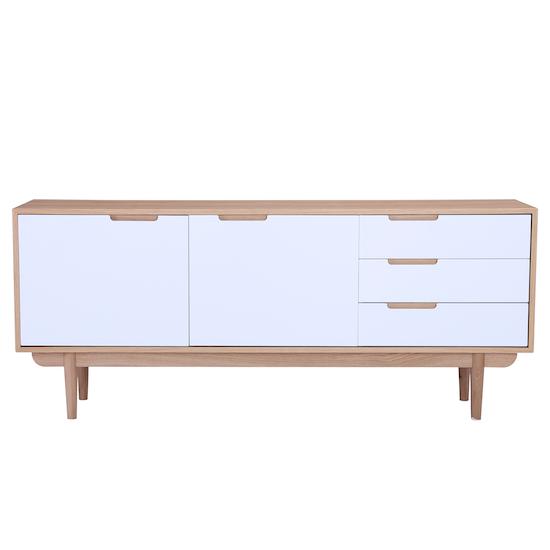 Laholm - Larisa Sideboard 1.8m - Oak, White