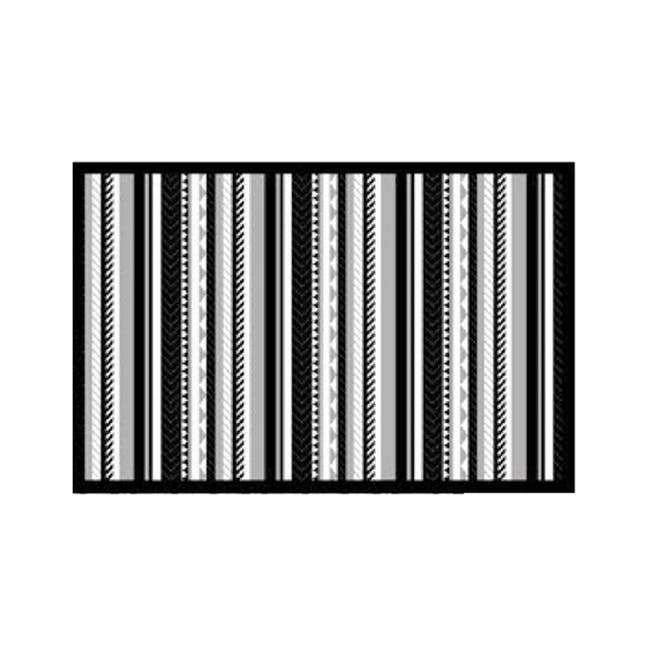 Inari Medium Reversible Mat 2m x 0.9m - Black - 0