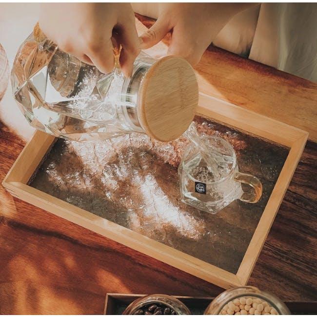Table Matters Taikyu Gold Handle Diamond Jug 1.5L - 3