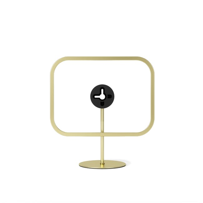Infinity Rectangle Photo Display - Small - Brass - 4