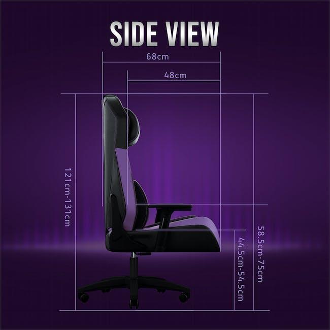 OSIM uThrone Gaming Massage Chair - Self Assembled - Pink - 11