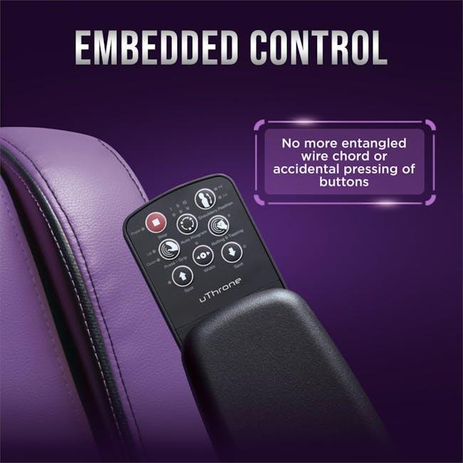 OSIM uThrone Gaming Massage Chair - Self Assembled - Pink - 6