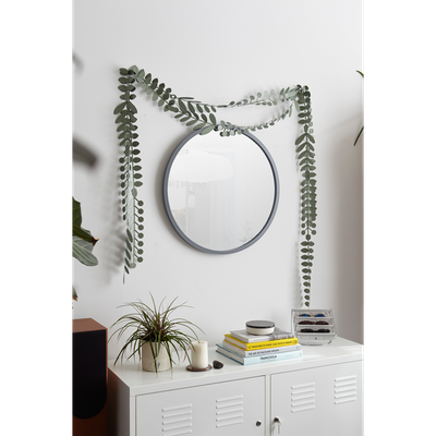 Hub Round Mirror 61 cm - Grey - Image 2