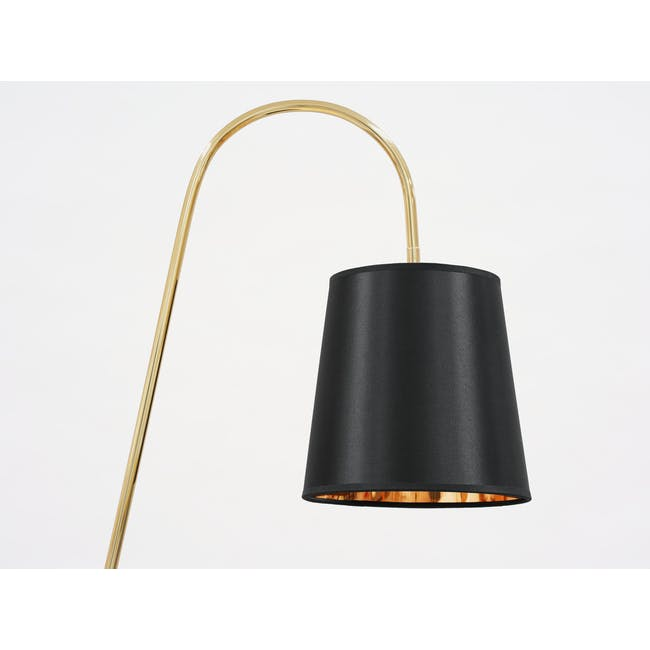 Alonso Floor Lamp / Side Table - 2