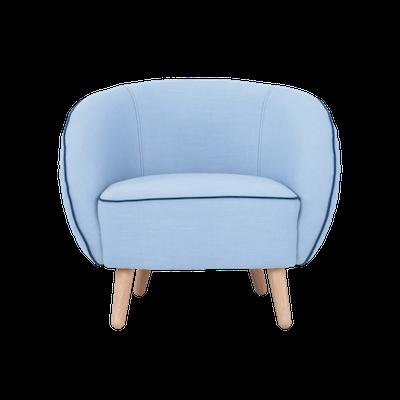 Draven Lounge Chair - Aquamarine - Image 2