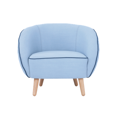 Draven Lounge Chair - Aquamarine - Image 2