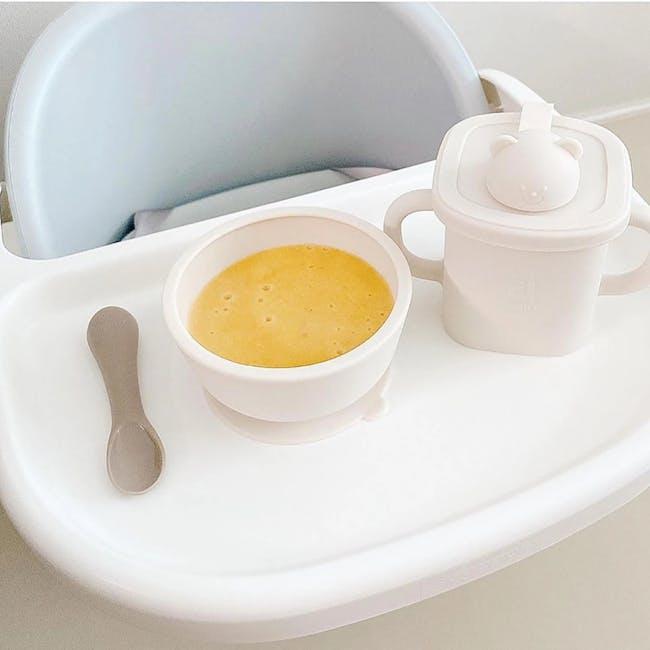 MODU'I Silicone Baby Spoon - Cream (Set of 2) - 14