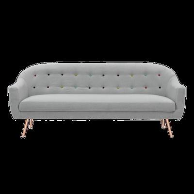 Arden 3 Seater Sofa with Arden Armchair - Image 2