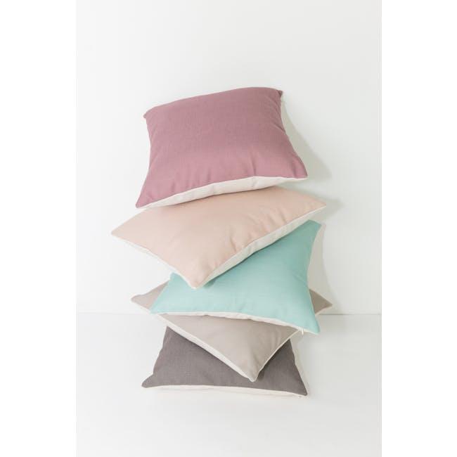 Throw Cushion Cover - Peach - 9
