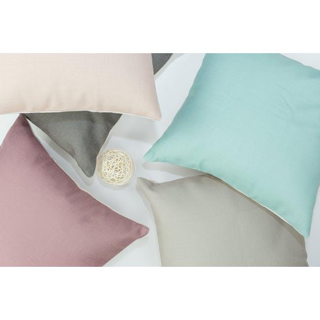Throw Cushion Cover - Peach - 10