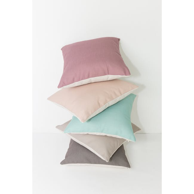 Throw Cushion - Peach - 8