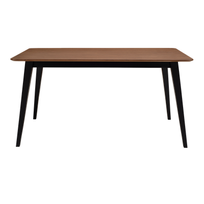 Ralph Dining Table 1.5m - Black, Cocoa - Image 2