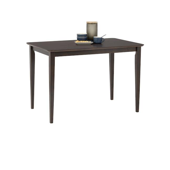 Charmant Dining Table 1.1m - Dark Chestnut - 4