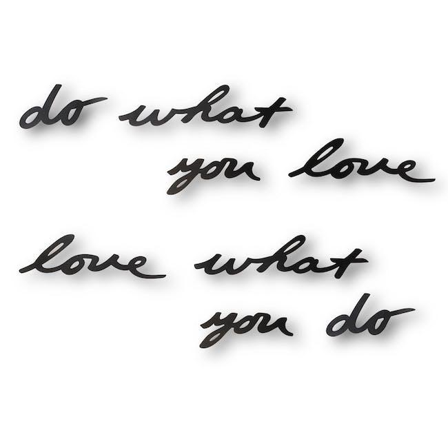 Mantra Love V.2 Wall Decor - 0