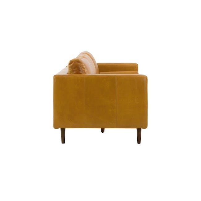 Nolan 3 Seater Sofa - Butterscotch (Premium Waxed Leather) - 3