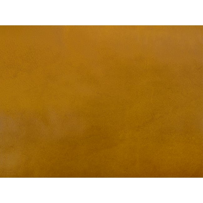 Nolan 3 Seater Sofa - Butterscotch (Premium Waxed Leather) - 7